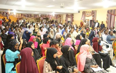 Sada Mire delivers 10th Anniversary Lecture: 'Somali Heritage and Education'