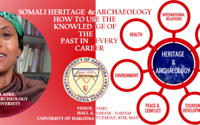 """Somali heritage and Archaeology: how to use the knowledge of the past in every career"""