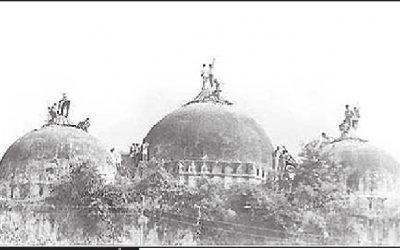 Ayodhya konflikten- hur länge ska arkeologerna tillåta att den inomdisciplinära debatten tystas av politiska hänsynstagande?