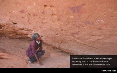 Sada Mire interviewed by CNN: 'First-aid' needed for 5,000-year-old Somali cave paintings