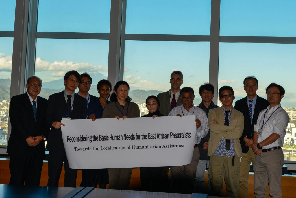 Dr Sada Mire and international scholars conclude with the Shizuoka University team their project the 'Localisation of Humanitarian Assistance,' November, 2015