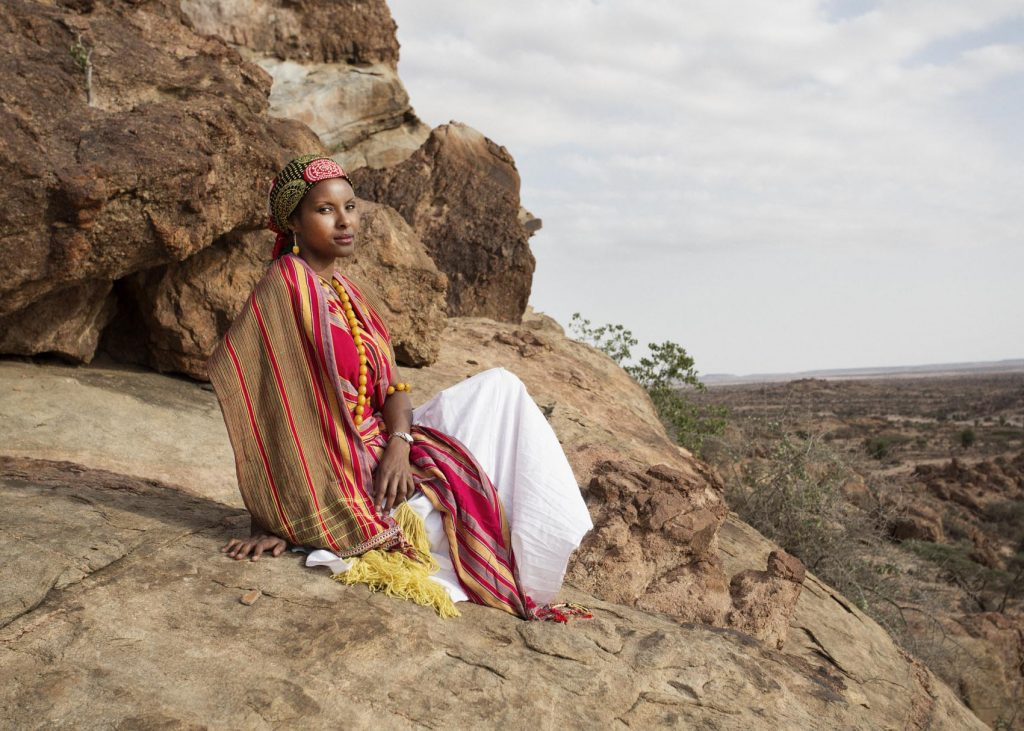 Vanity Fair reportage on Dr Sada Mire (photo: Nicolas Guiraud)